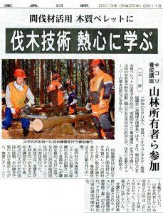 東奥日報朝刊20130611